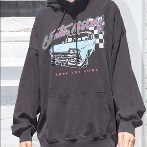 Brandy Melville electric motors sweatshirt